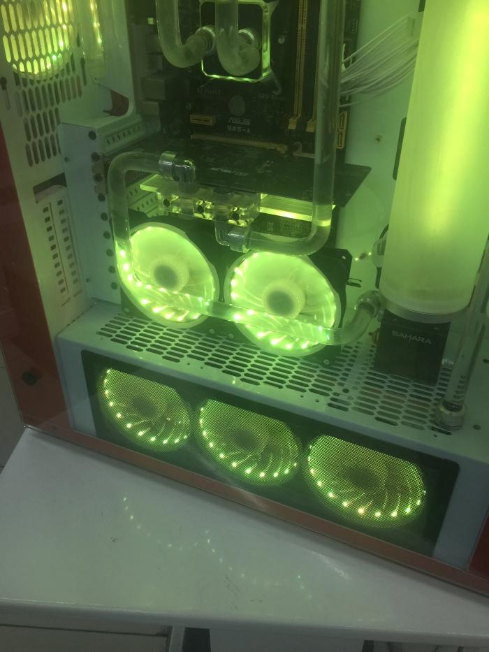 ordenador refrigerado por líquido
